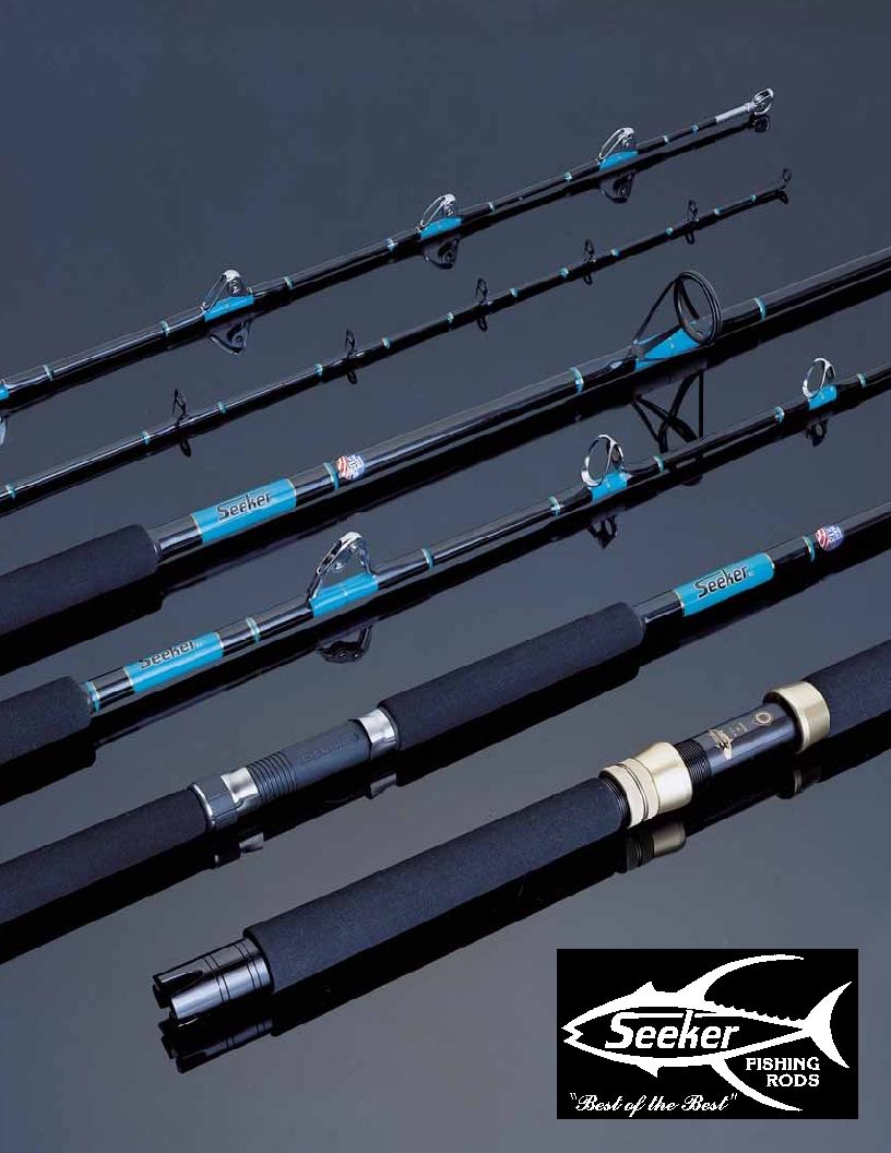Wire line bunker spoon rods pelagic outfitters your for Wire fishing rod