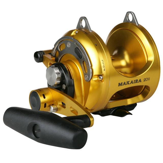 Okuma makaira two speed gold pelagic for Okuma fishing usa